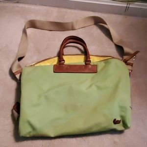 Green Dooney and Bourke tote bag